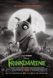 Frankenweenie UK movie poster