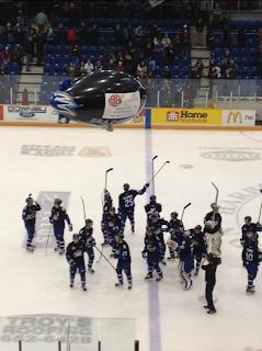 QMJHL: Heave Away. Dogs Win 2-1.