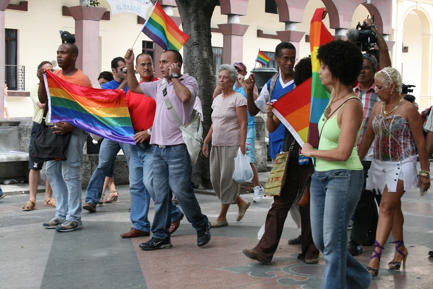 Insignia de orgullo gay de 1990