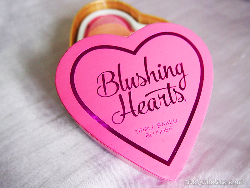 Makeup Revolution Blushing Hearts Triple Baked Blusher