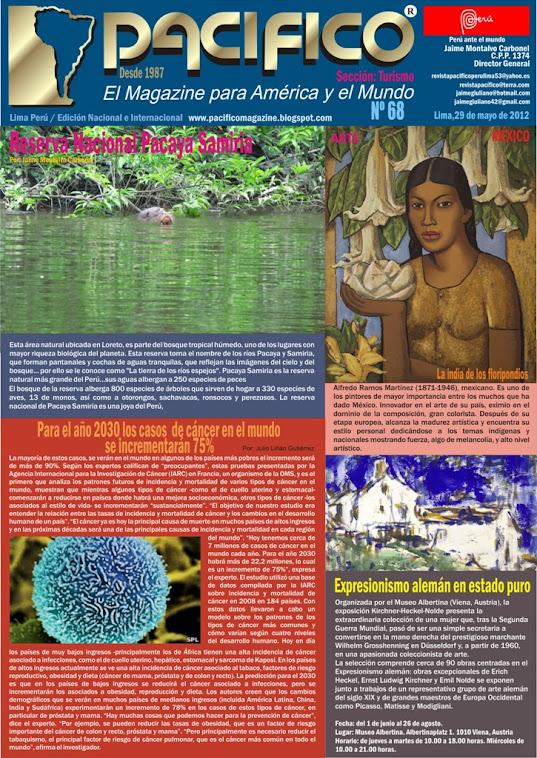 Revista Pacífico Nº 68 Turismo