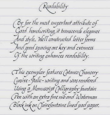 Script Handwriting