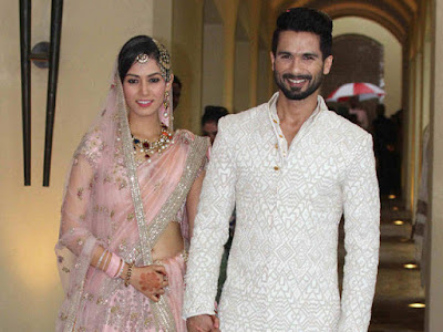 Shahid Kapoor - Mira Rajput Wedding Pictures