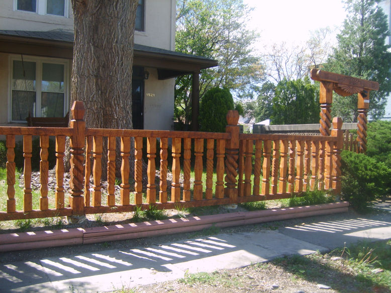 Unique Fence Designs Ideas Home Decorating Ideas and