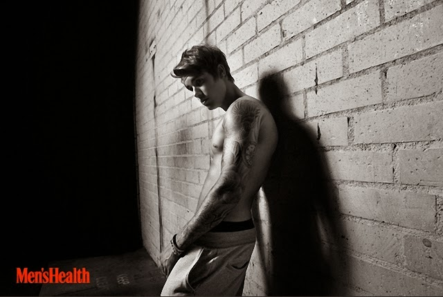 Justin Bieber Men's Health