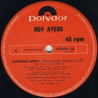 Roy Ayers - Running Away 1978 12 Inch