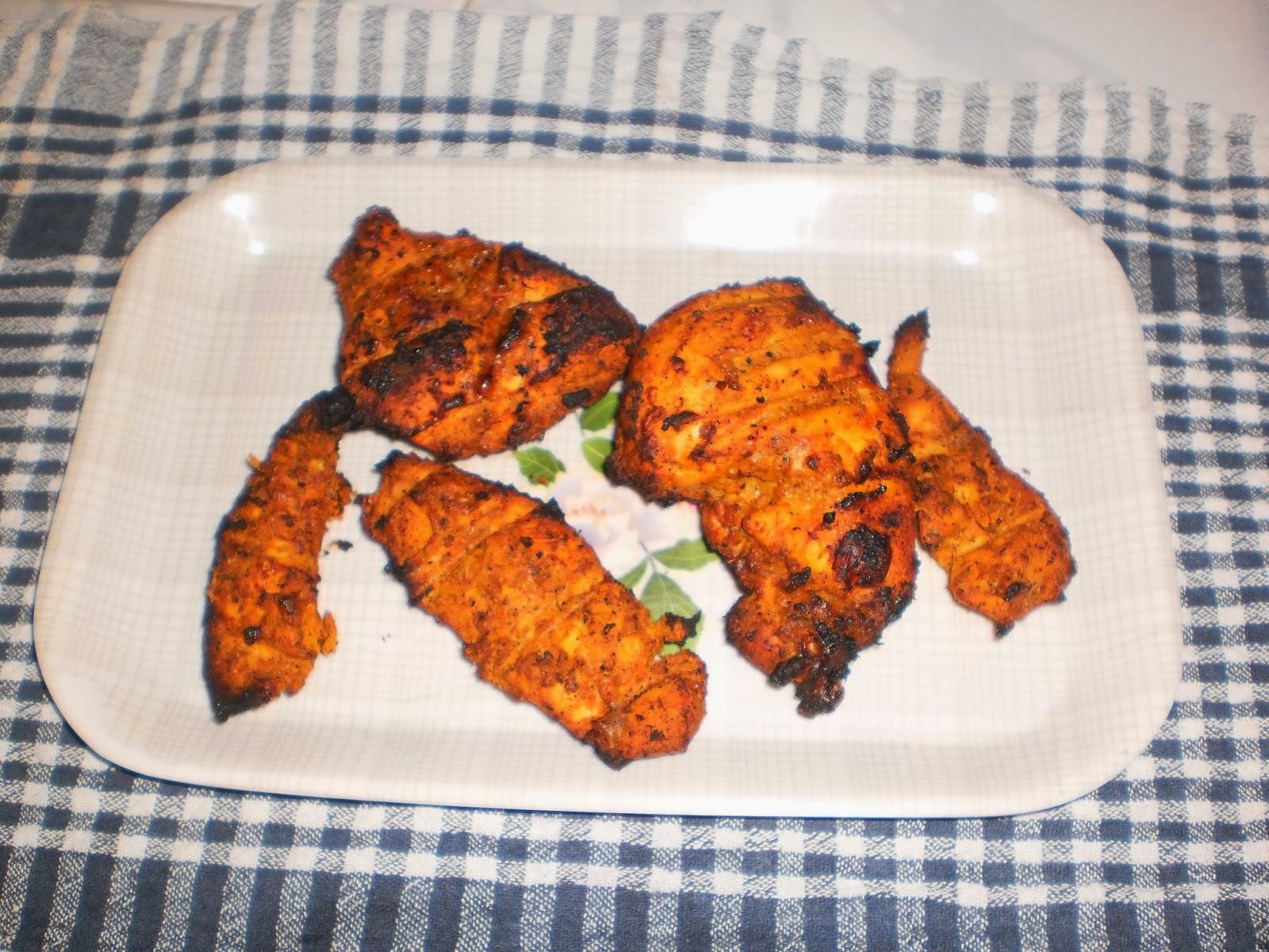 Al Faham Chicken Easy Grilled Arabian Recipe