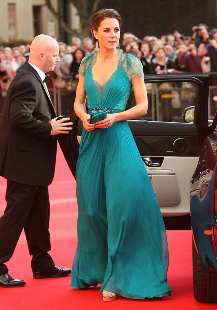 Kate Middleton ve Muhteşem Turkuaz Elbisesi
