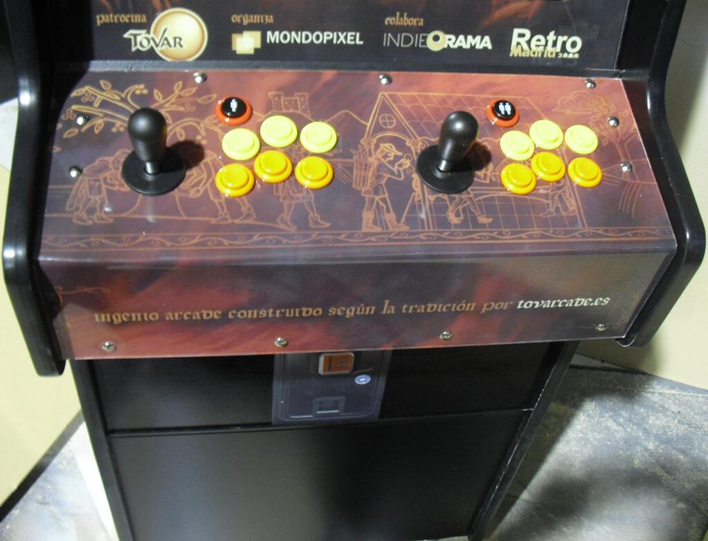 Retromaniac revista de videojuegos retro videogames for Mueble recreativa