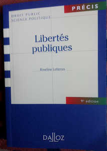 Liberts publiques. 9 ed. Prcis Dalloz