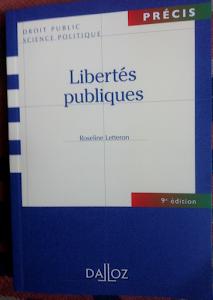 Libertés publiques. 9é ed. Précis Dalloz