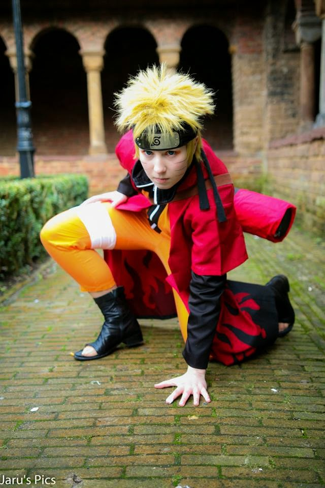 Naruto senin mode Cosplay Cool