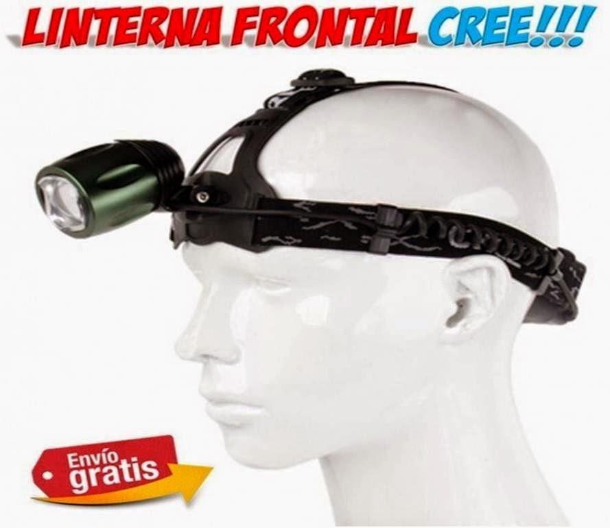 linternas frontales LED