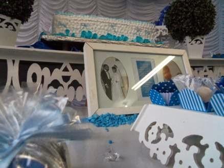 como organizar homenagem das bodas de safira