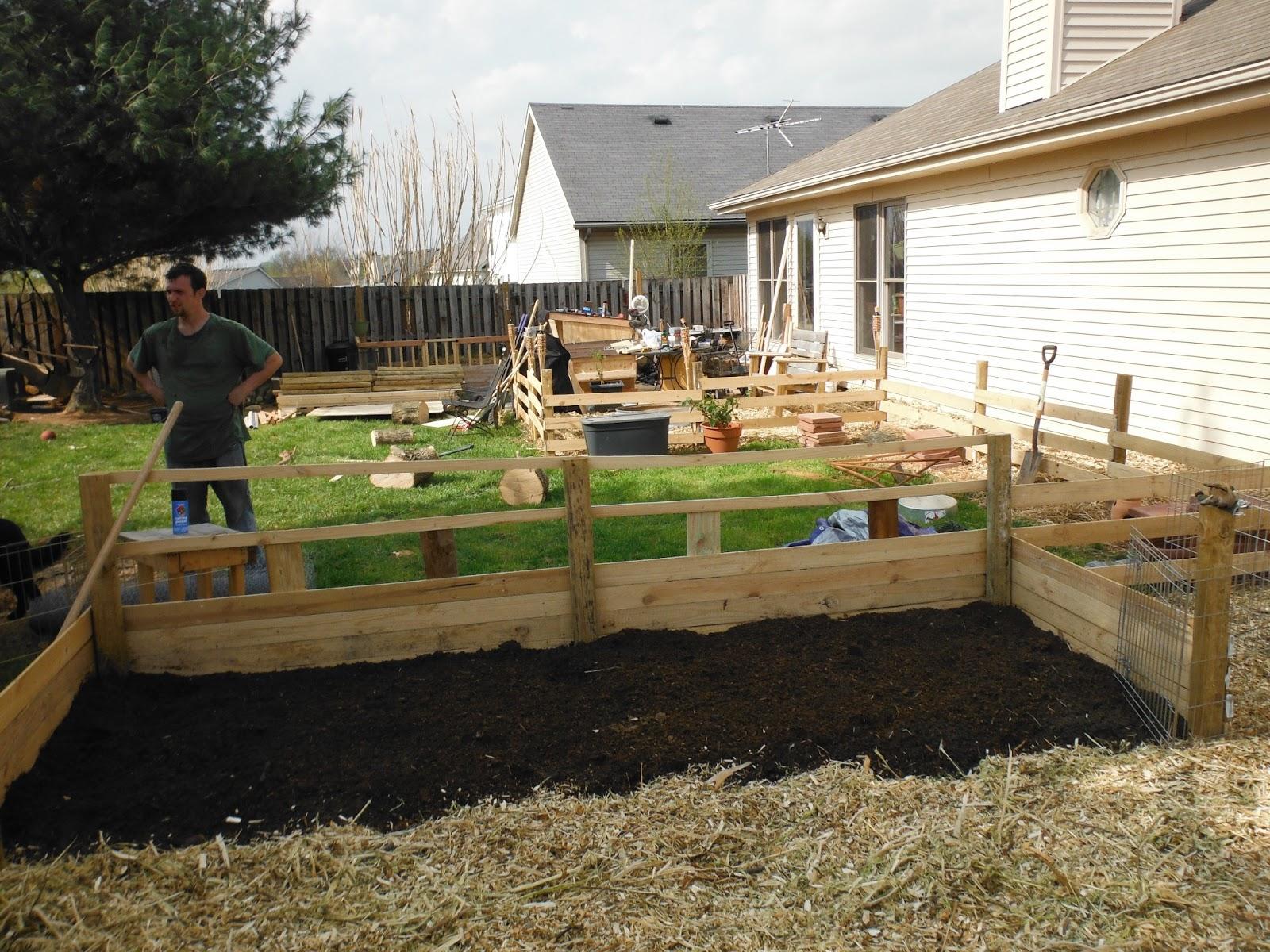 Suburban Backyard Farm