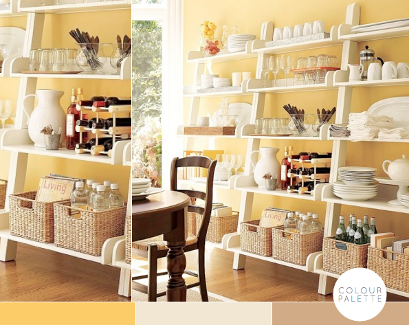 Kitchen Ideas Decorating With Yellow Bright Bazaar By