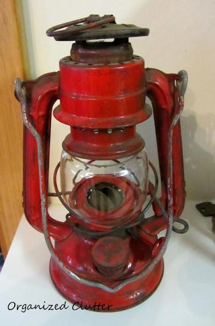 Red Lantern www.organizedclutterqueen.blogspot.com