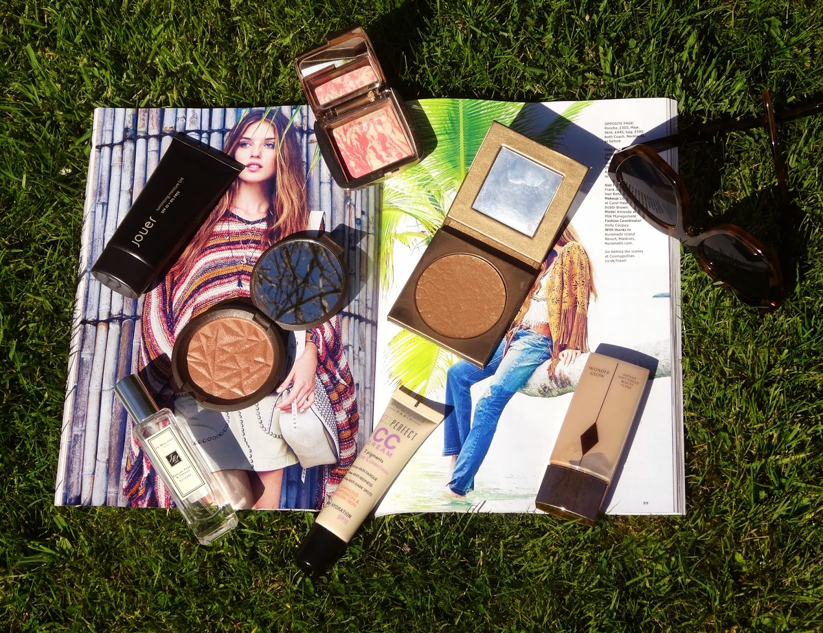 Jouer, Jo Malone, Becca Cosmetics, Bourjois, Tarte Cosmetics, Charlotte Tilbury, Hourglass