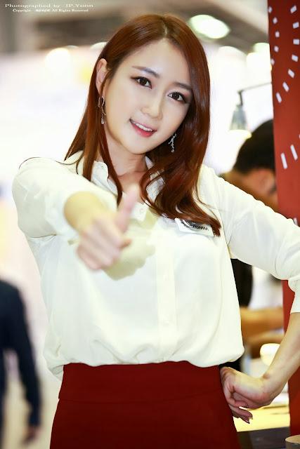 4 Han Chae Yee - Korea Electronics Show 2013-Very cute asian girl - girlcute4u.blogspot.com