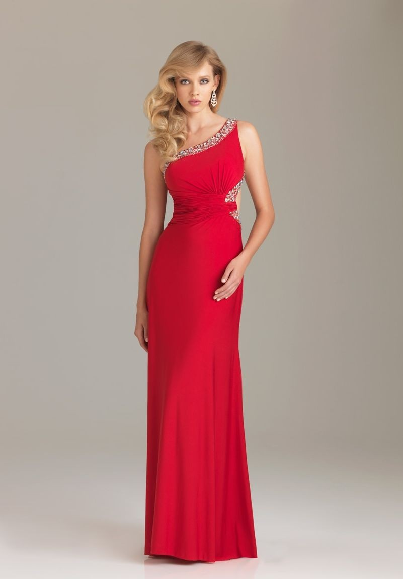 One shoulder prom dresses hairstyles – Dress blog Edin