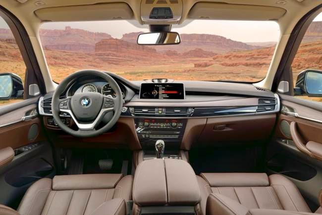 2016 BMW 5 Series: Interior