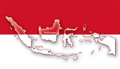 Kata-Kata Bahasa Indonesia Yang Digunakan Sebagai Nama Tempat di Dunia