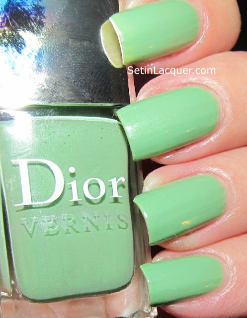 Dior Water Lily Swatches with flash