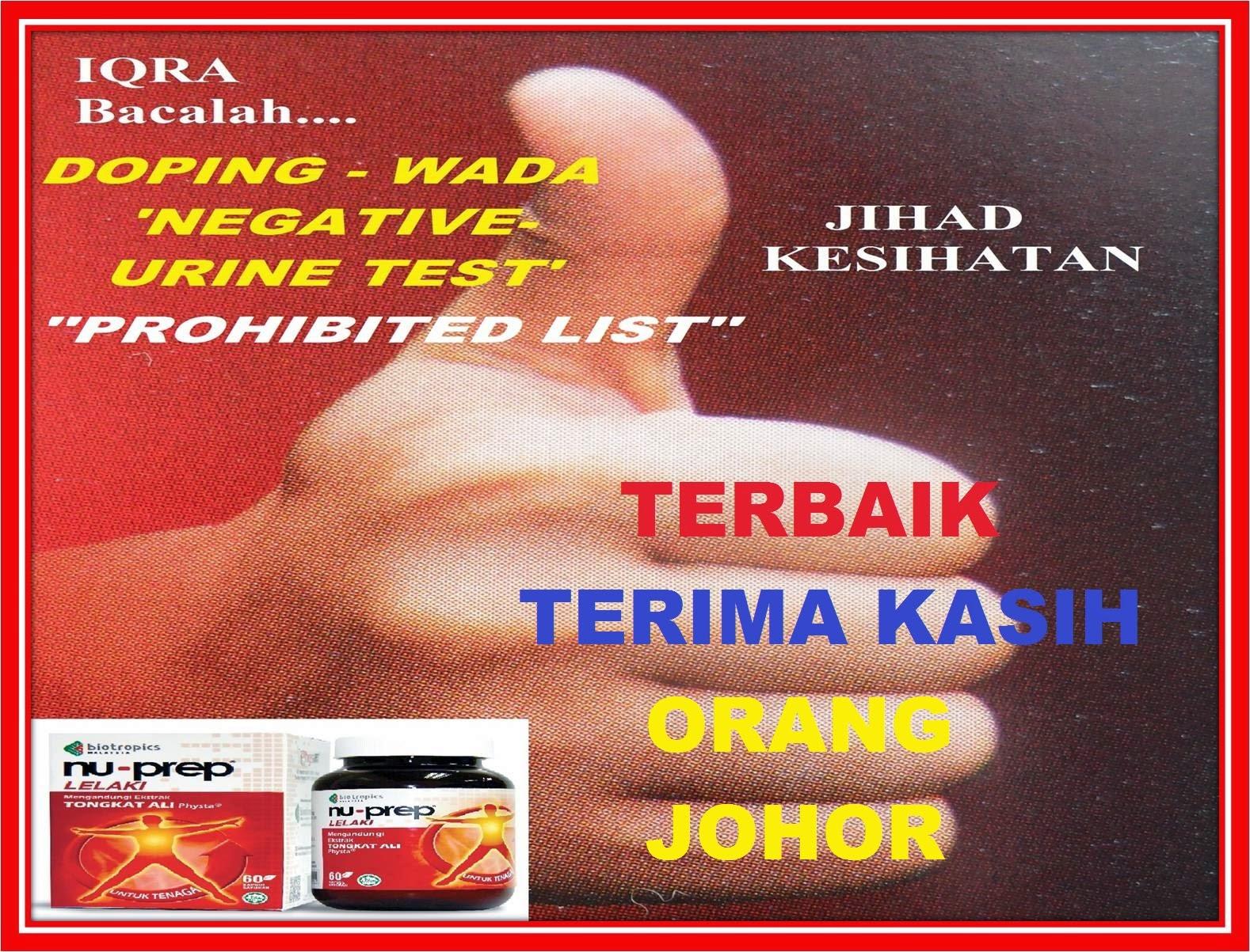 JOHOR FM Teristimewa untuk ORANG JOHOR  NU-PREP lelaki keudara setiap KHAMIS bermula 21hb Ogus 2014