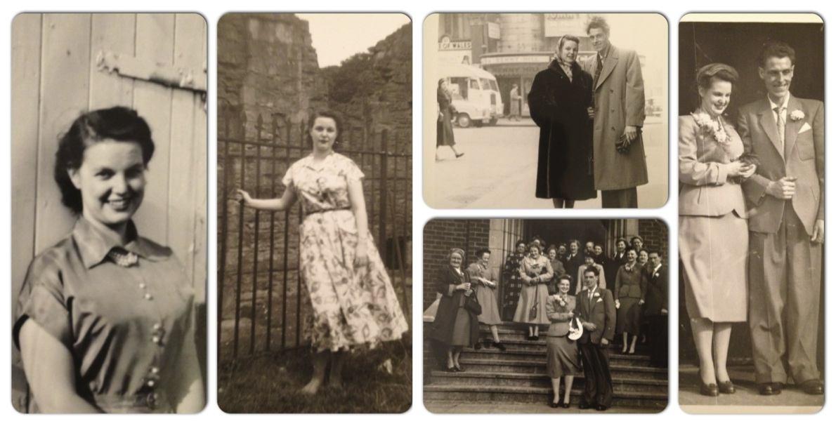 Vintage find 1950s tailoring amp my grandmother s vintage wedding suit