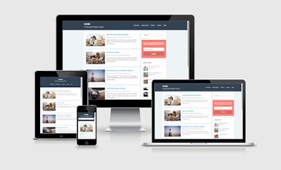 3 Template Keren Simpel dan Responsive Untuk Blogger