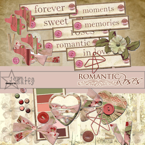 Romantic Roses by Rebekah Jennings/Jessica Safty
