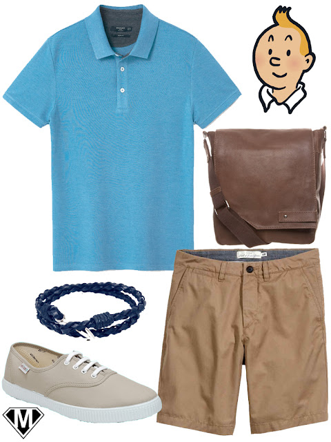 get the look tintin style