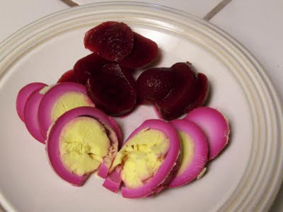 homemade easter egg dye deviled eggs red beet eggs