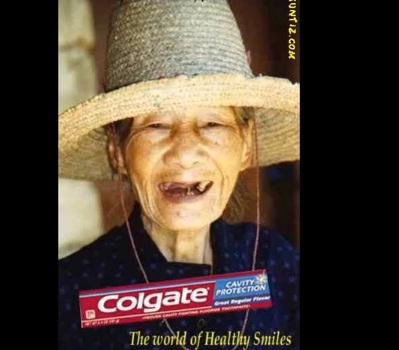 Model Colgate yang paling hot!