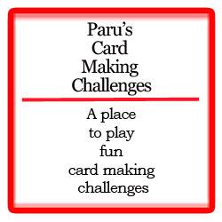 Paru's card challenges