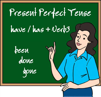 Present perfect tense çözümlü alıştırmalar