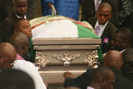 funmi olayinka burial