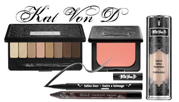Preppy Makeup : Brand Rave: Kat Von D for Sephora