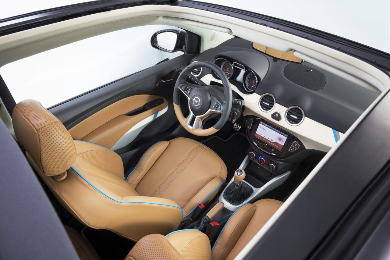 Opel adam rocks for Opel adam s interieur