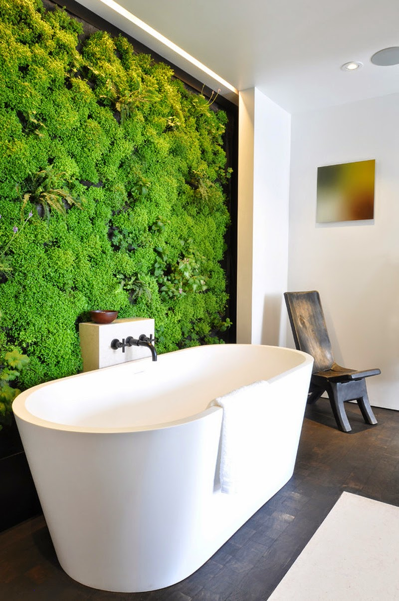 Jardin Vertical Baño:Jardines Verticales en baños