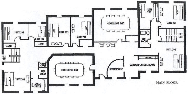 Hiee... Here Are Some Basic ..small Private Sector Office Plans To Start  With Your Office Designing Work. Check Them Out.