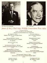 """El jurado del premio """"J. Paul Getty"""" fue presidido por el príncipe Bernardo de Holanda."""
