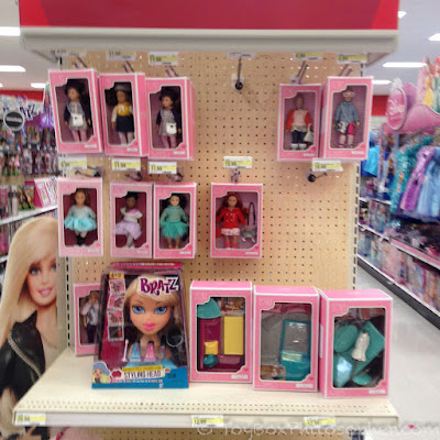 The Dolls And A Few Furniture Sets (with A Rebel Bratz Head).