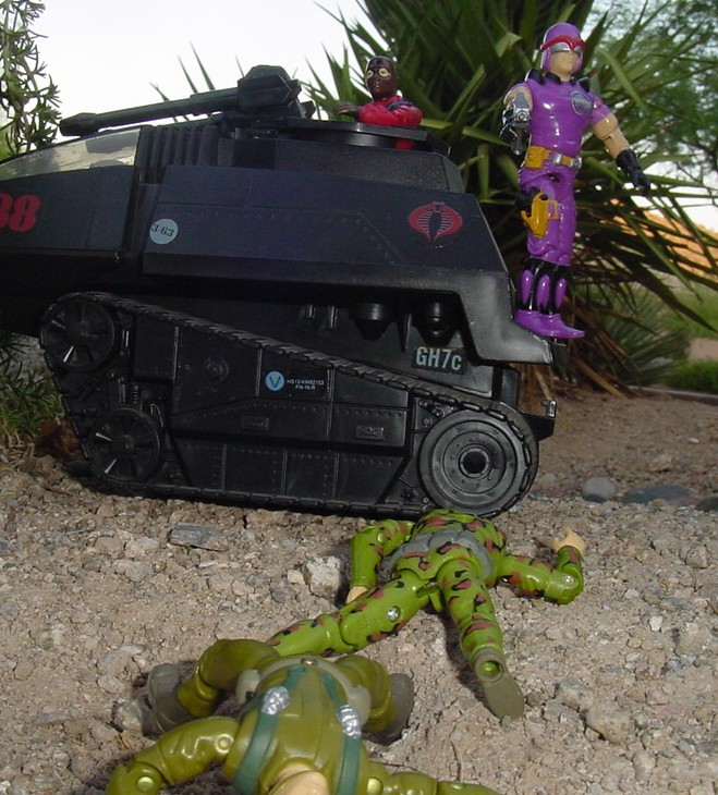 1987 Sea Slug, 2002 Gift Set Firefly, 1983 Hiss Tank, 1994 Action Soldier, Action Marine