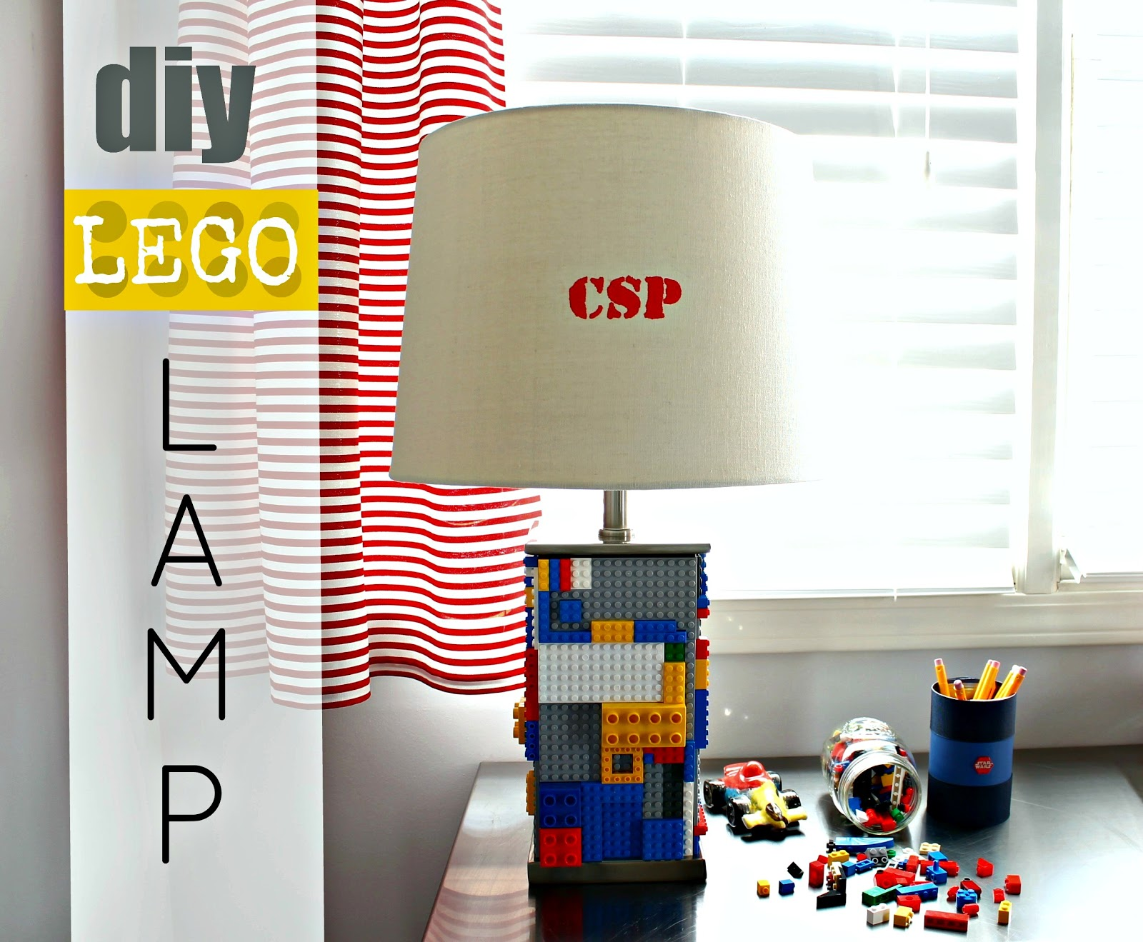 Lego lamp infarrantly creative for Lego diy