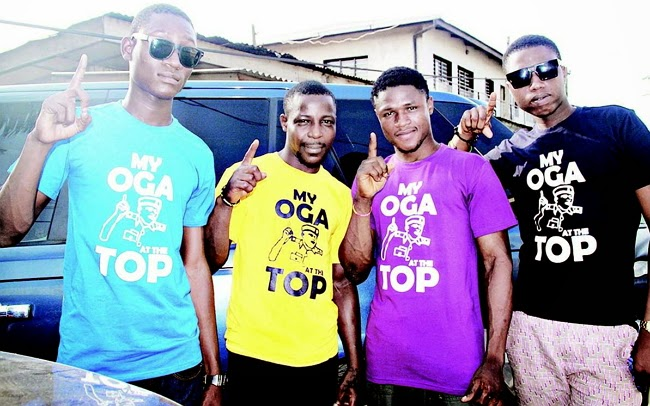 my oga on top shirt