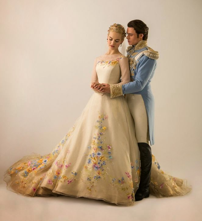 Bridal scene from Cinderella 2015