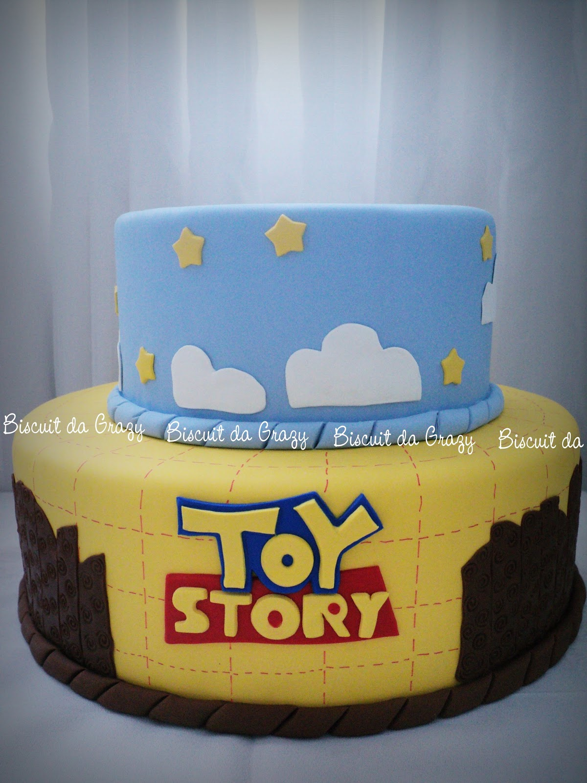 Suficiente Biscuit da Grazy: BOLO TOY STORY EE03