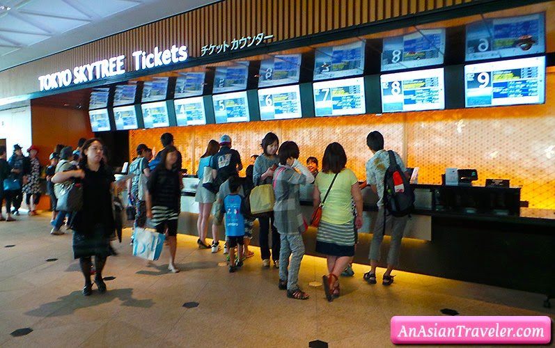 tokyo skytree ticket counter