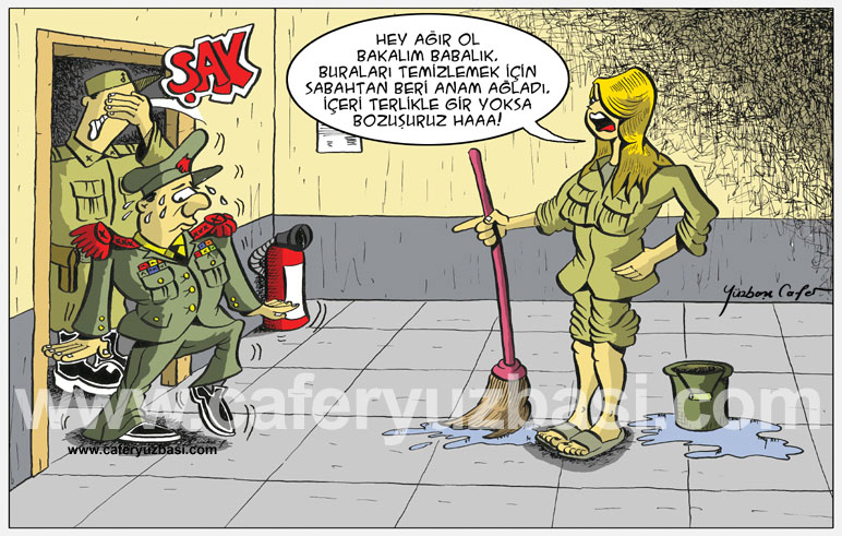 temizlik önemli-Kadinlar Asker Olursa?